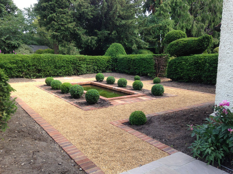 Garden Design and Landscaping in Staines Middlesex Surrey and
