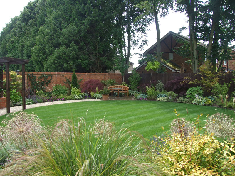 Englefield Green, Surrey - Rear Garden