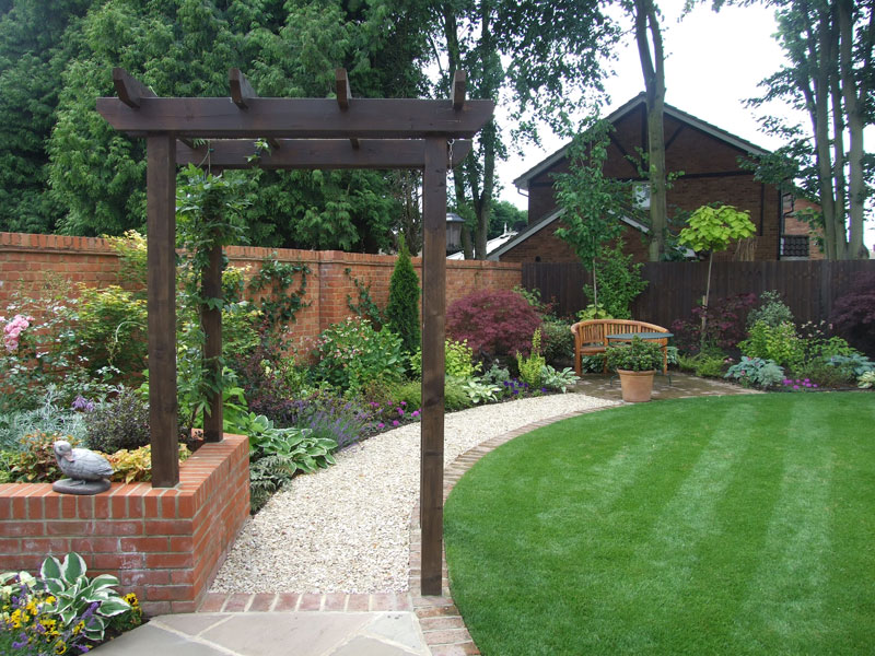Englefield Green, Surrey   Rear Garden | Garden Design And Landscaping In  Staines Middlesex, Surrey And London : The Outside Design Company